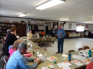 Ken Burger presented information on the needs of cool-season crops.